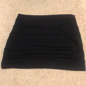 Bebe black skirt